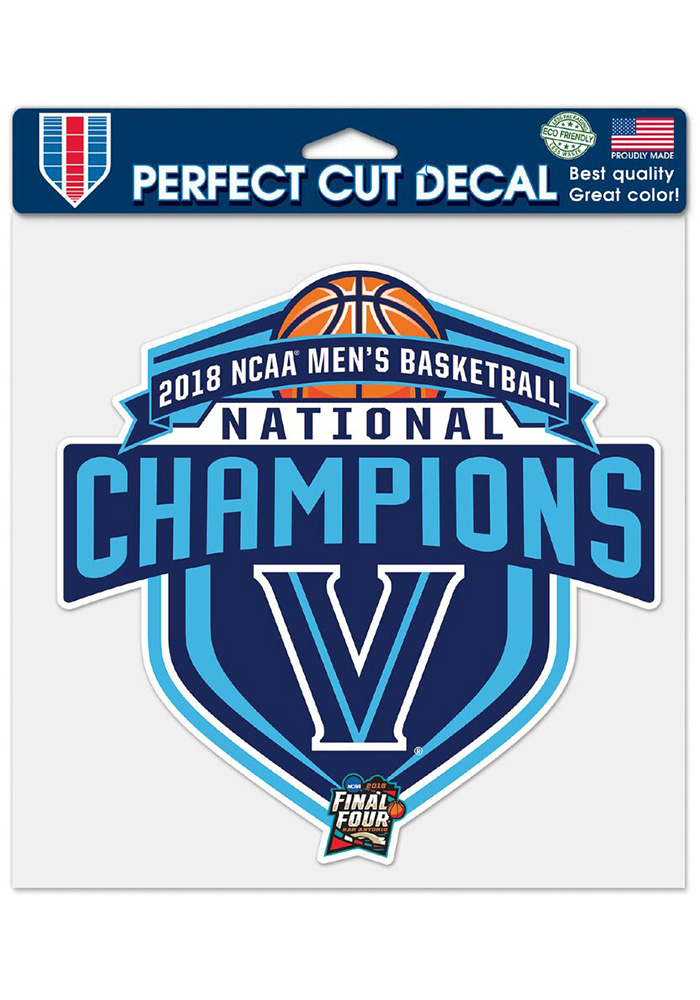 Villanova Wildcats 2018 National Champion Decal - Image 1
