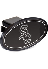 Chicago White Sox Plastic Oval Car Accessory Hitch Cover
