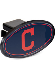 Cleveland Indians Plastic Oval Car Accessory Hitch Cover
