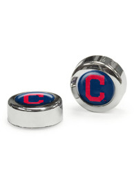 Cleveland Indians 2 Pack Auto Accessory Screw Cap Cover