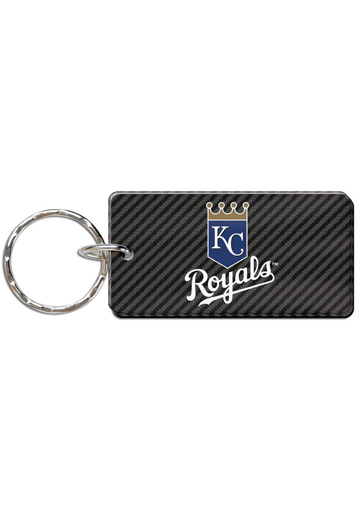 Kansas City Royals Carbon Keychain