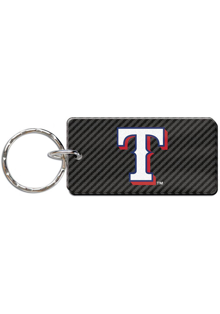 Texas Rangers Carbon Keychain - Image 1