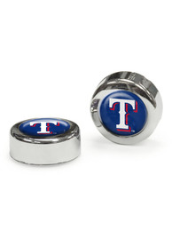 Texas Rangers 2 Pack Auto Accessory Screw Cap Cover