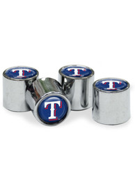 Texas Rangers 4 Pack Auto Accessory Valve Stem Cap