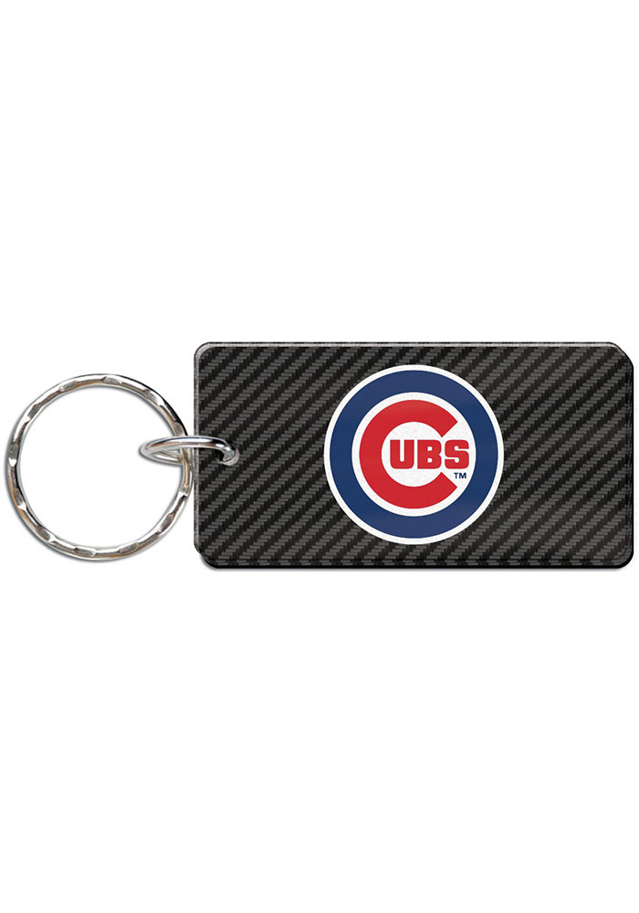Chicago Cubs Carbon Keychain - Image 1