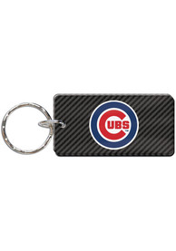 Chicago Cubs Carbon Keychain