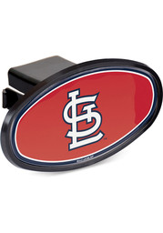 St Louis Cardinals Plastic Oval Car Accessory Hitch Cover