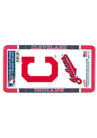 Cleveland Indians 2-Pack Decal Combo License Frame