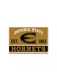 Emporia State Hornets Metal Magnet