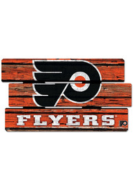 Philadelphia Flyers 14x25 Painted Fence Sign