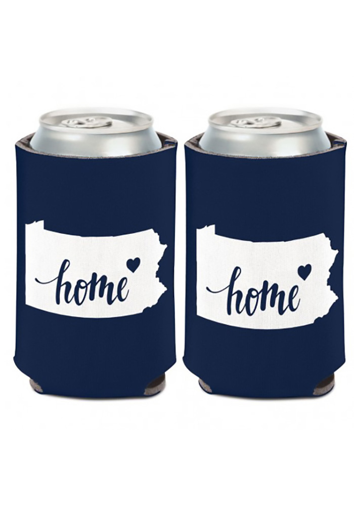 Pennsylvania 12 oz State Shape Can Cooler Coolie - Image 1