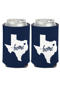 Texas 12 oz State Shape Can Cooler Coolie