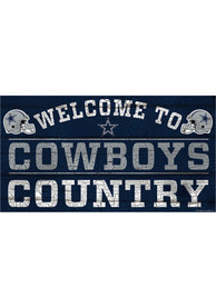 Dallas Cowboys Welcome To 13X24 Wood Sign