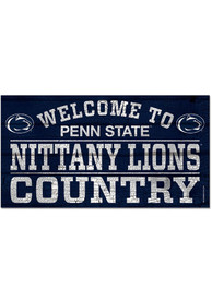 Penn State Nittany Lions Welcome To 13X24 Wood Sign