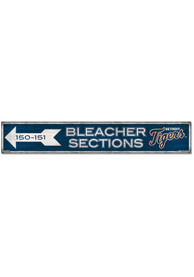 Detroit Tigers General Seating 6x36 inch Wood Sign