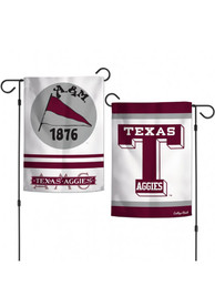 Texas A&M Aggies 1876 Vault Garden Flag