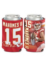Kansas City Chiefs Patrick Mahomes Name and Number 12oz Can Coolie