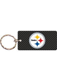 Pittsburgh Steelers Carbon Keychain
