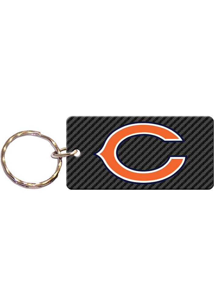 Chicago Bears Carbon Keychain