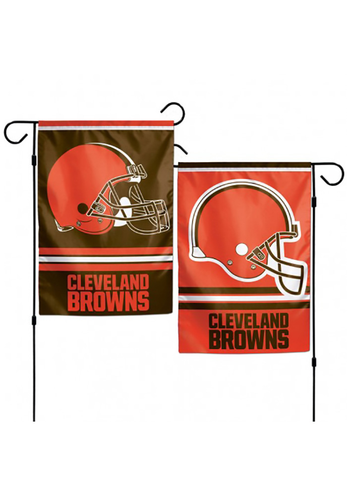 Cleveland Browns 12.5x18 2-Sided Garden Flag - Image 1
