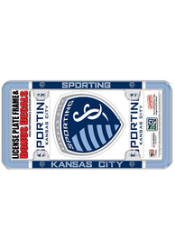 Sporting Kansas City 2-Pack Decal Combo License Frame
