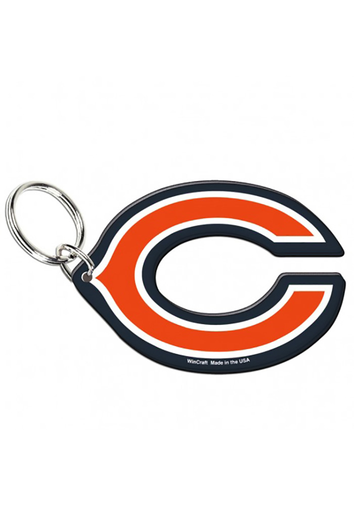Chicago Bears Acrylic Keychain