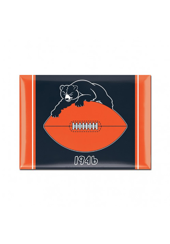 Chicago Bears Retro Magnet