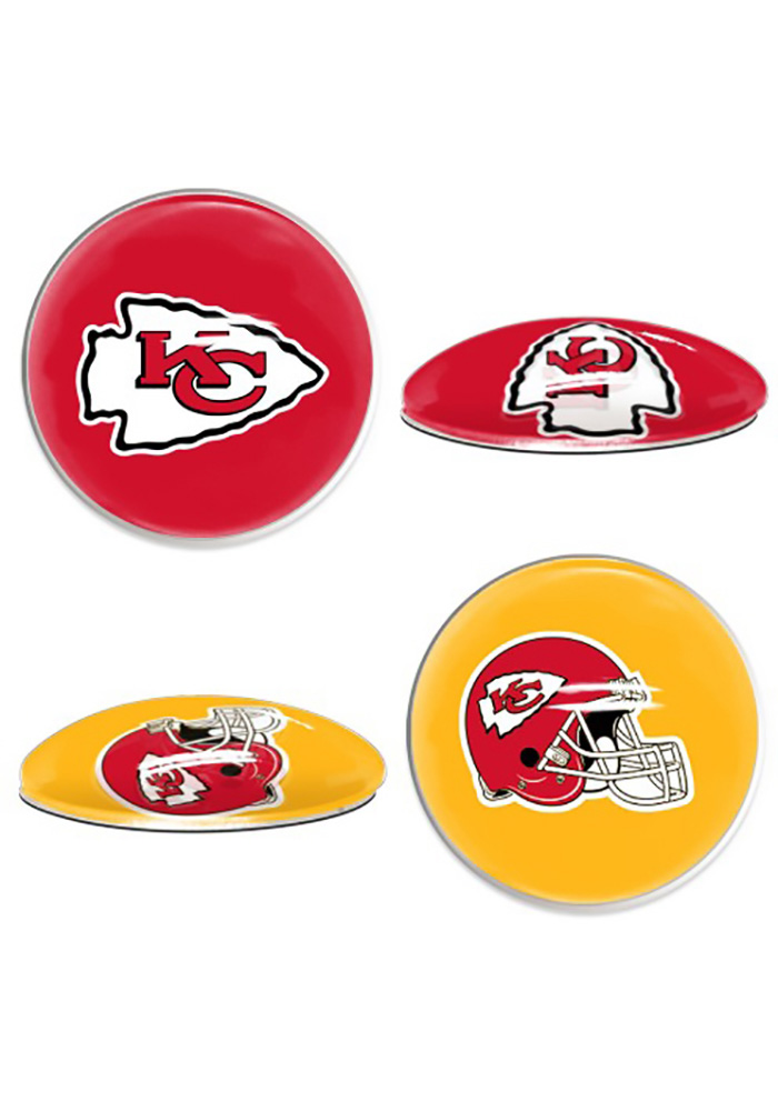 Kansas City Chiefs Sport Dots Magnet - Image 1