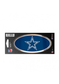 Dallas Cowboys Chrome Stickers