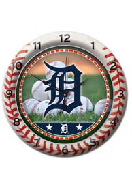 Detroit Tigers Game Wall Clock