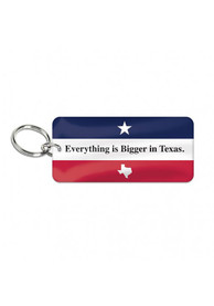 Texas Saying Keychain