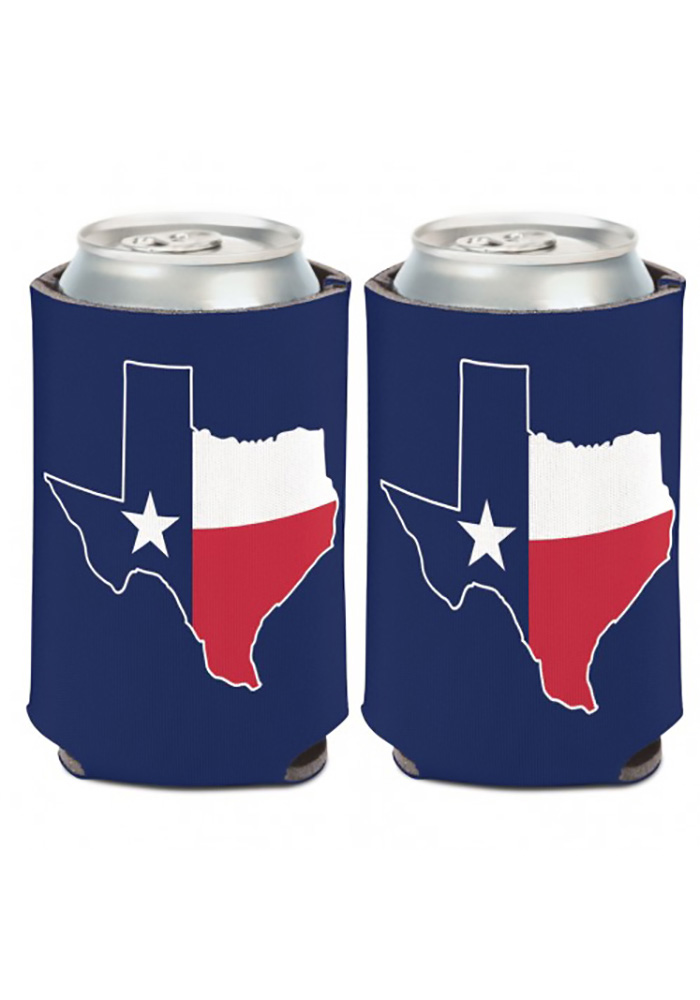 Texas 12 oz State Shape Coolie - Image 1