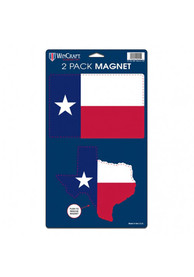 Texas 5x9 State Shape Magnet