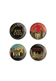 Chicago Chicago 4 Pack Button