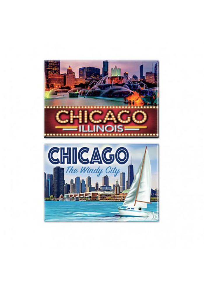 Chicago 2x3 Chicago Magnet - Image 1