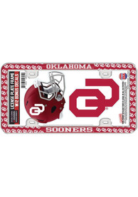 Oklahoma Sooners 2-Pack Decal Combo License Frame