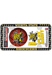 Wichita State Shockers 2-Pack Decal Combo License Frame