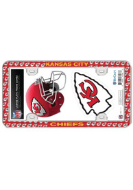 Kansas City Chiefs 2-Pack Decal Combo License Frame