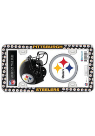 Pittsburgh Steelers 2-Pack Decal Combo License Frame