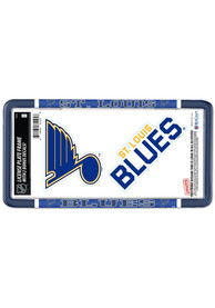 St Louis Blues 2-Pack Decal Combo License Frame