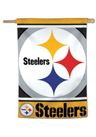 Pittsburgh Steelers Mega 28x40 inch Vertical Banner