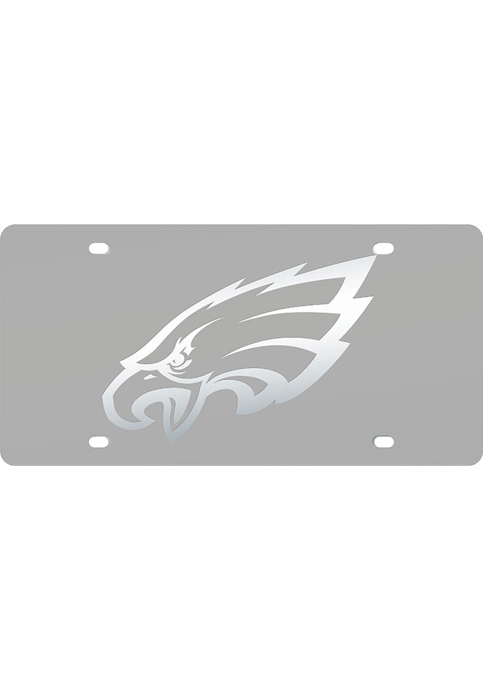 Philadelphia Eagles Frosted Inlaid Car Accessory License Plate - Image 1