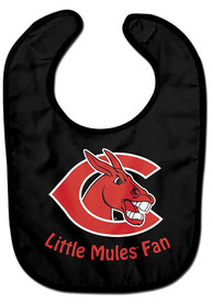 Central Missouri Mules Baby All Pro Bib - Red
