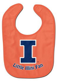 Illinois Fighting Illini Baby All Pro Bib - Orange
