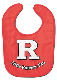 Rutgers Scarlet Knights Baby All Pro Bib - Red