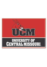 Central Missouri Mules 2.5 x 3.5 Metal Magnet