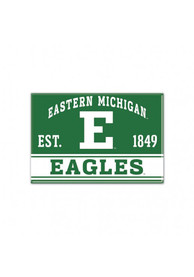 Eastern Michigan Eagles 2.5 x 3.5 Metal Magnet