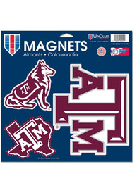Texas A&M Aggies 11 x 11 3pk Magnet