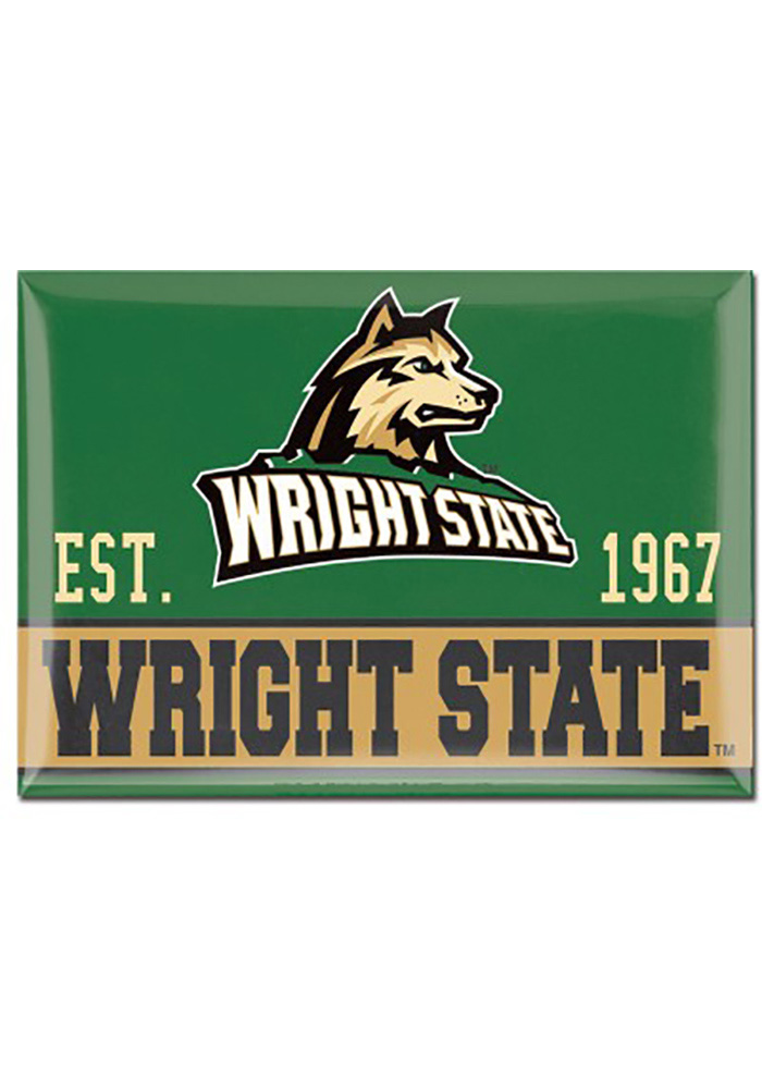 Wright State Raiders 2.5 x 3.5 Metal Magnet - Image 1
