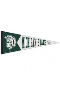 Michigan State Spartans 12x30 inch Premium Pennant